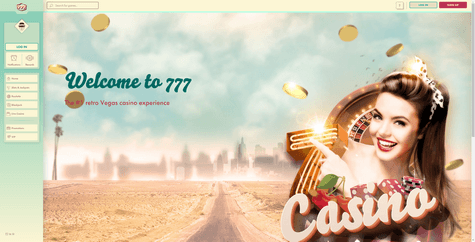 777 Casino Screenshot