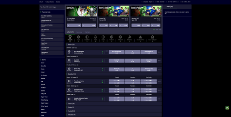 Spin Sports Screenshot